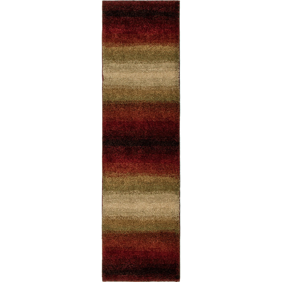 Orian Rugs Connection Red Indoor Novelty Throw Rug (Common: 4 x 6; Actual: 3.92-ft W x 5.42-ft L)