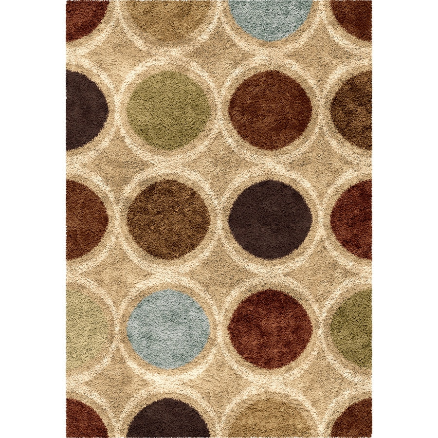 Orian Rugs Marble Multi Rectangular Indoor Machine-made Novelty Area Rug (Common: 8 x 11; Actual: 7.83-ft W x 10.83-ft L)