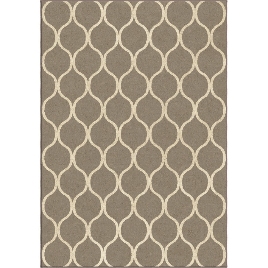 Orian Rugs Infinity Silverton Rectangular Indoor Machine-made Novelty Area Rug (Common: 5 x 8; Actual: 5.25-ft W x 7.5-ft L)