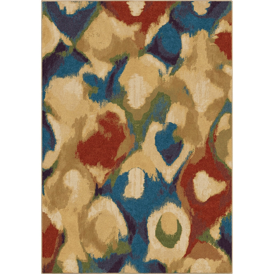 Orian Rugs Broken Glass Indoor Novelty Area Rug (Common: 5 x 8; Actual: 5.25-ft W x 7.5-ft L)