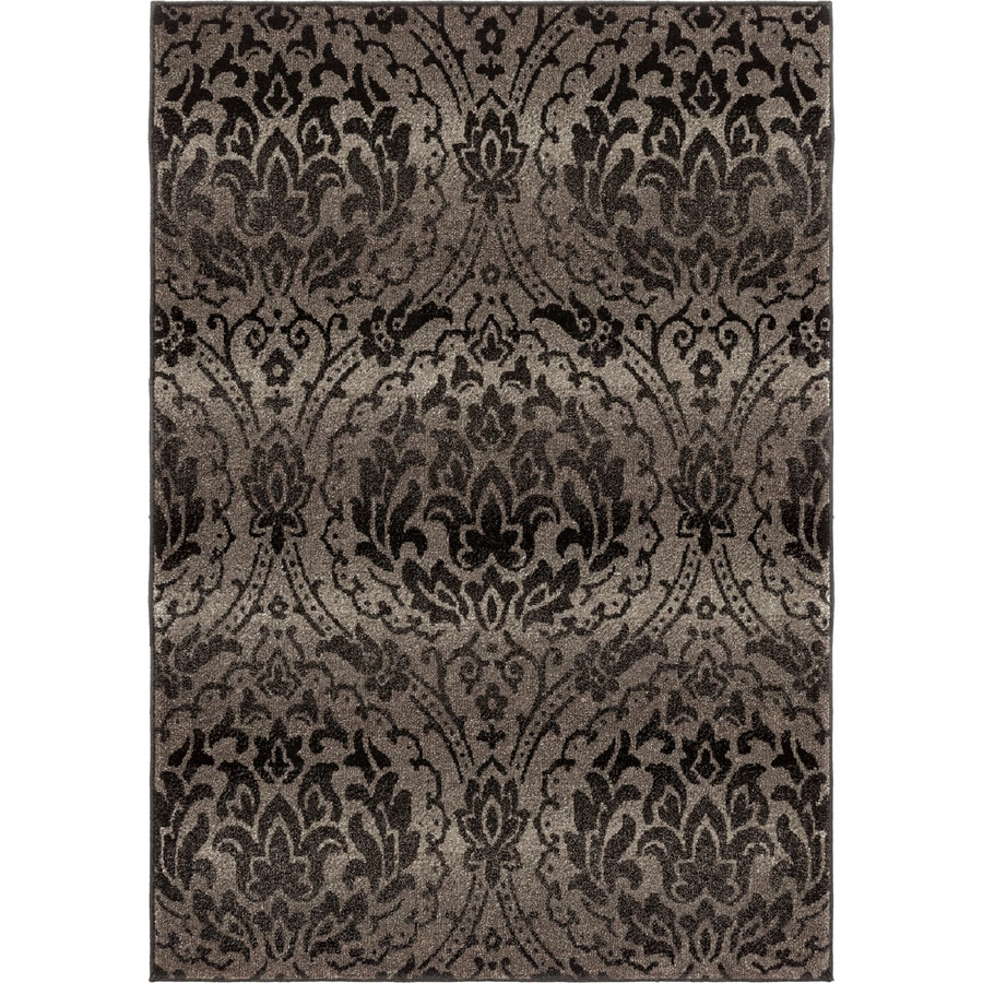 Orian Rugs Chesapeake Gray Rectangular Indoor Machine-made Nature Area Rug (Common: 8 x 11; Actual: 7.83-ft W x 10.83-ft L)