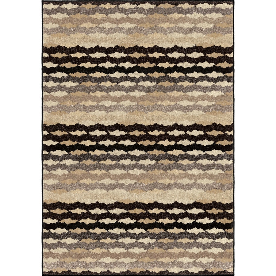 Orian Rugs Humboldt Gray Rectangular Indoor Machine-made Novelty Area Rug (Common: 8 x 11; Actual: 7.83-ft W x 10.83-ft L)