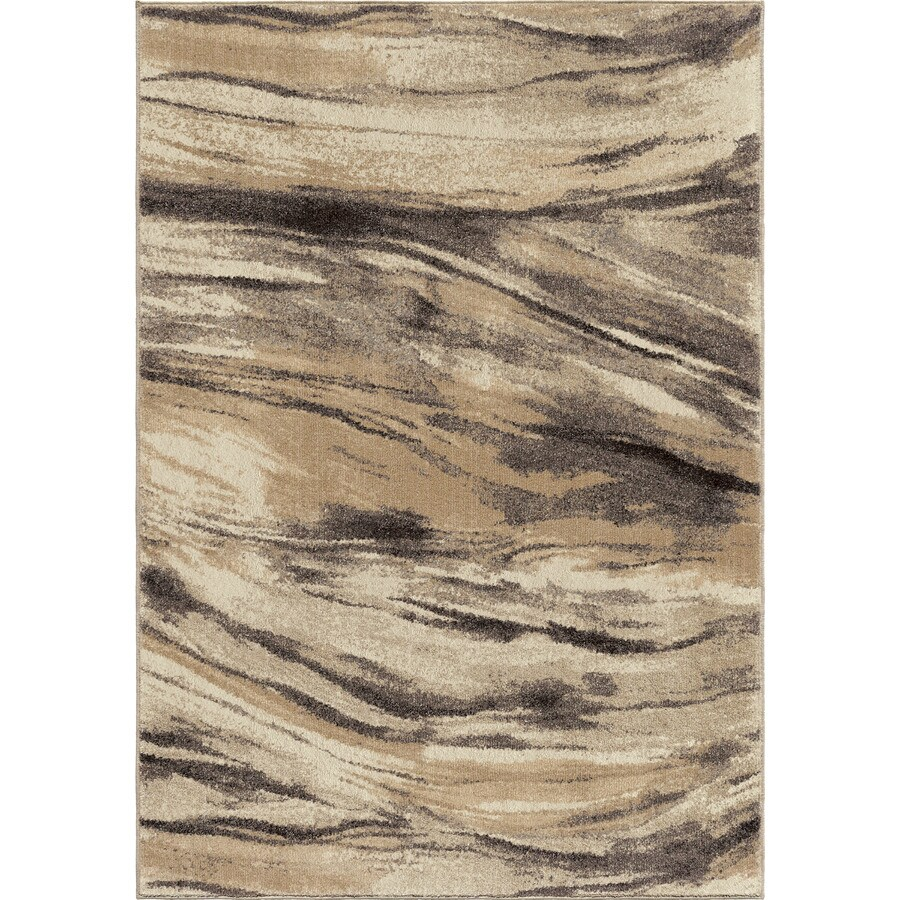 Orian Rugs Brushed Brist Indoor Novelty Area Rug (Common: 8 x 11; Actual: 7.83-ft W x 10.83-ft L)