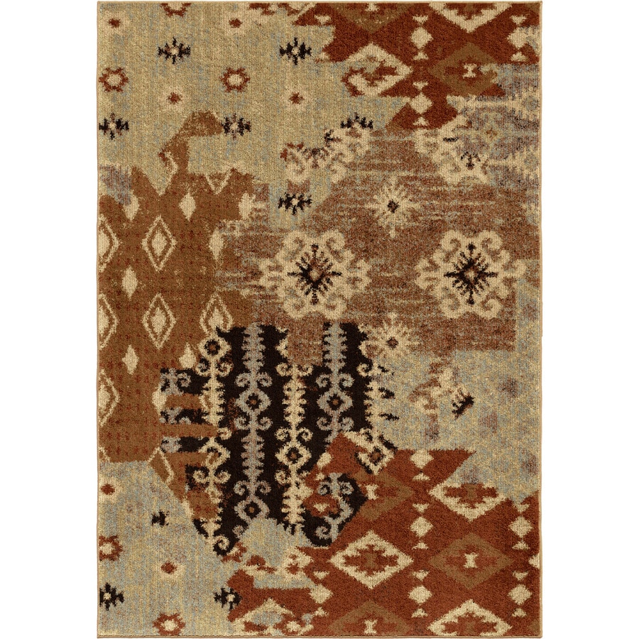 Shop Orian Rugs Southwest Patc Indoor Southwestern Area