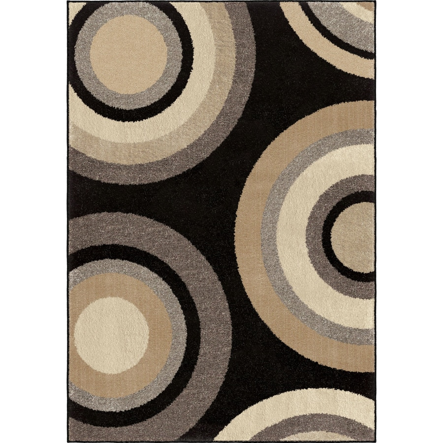 Orian Rugs Curled Rochelle Indoor Novelty Area Rug (Common: 5 x 8; Actual: 5.25-ft W x 7.5-ft L)