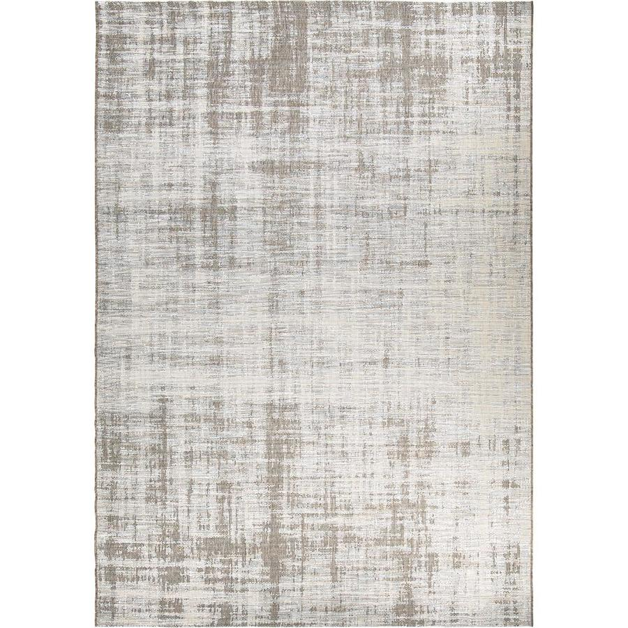 Shop Orian Rugs Rustic Seashore Gray Indoor Outdoor
