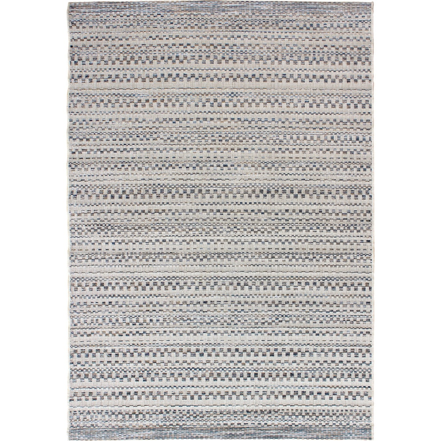 Orian Rugs Isle Sky Gray Rectangular Indoor/Outdoor Machine-made Coastal Area Rug (Common: 5 x 8; Actual: 5.08-ft W x 7.5-ft L)