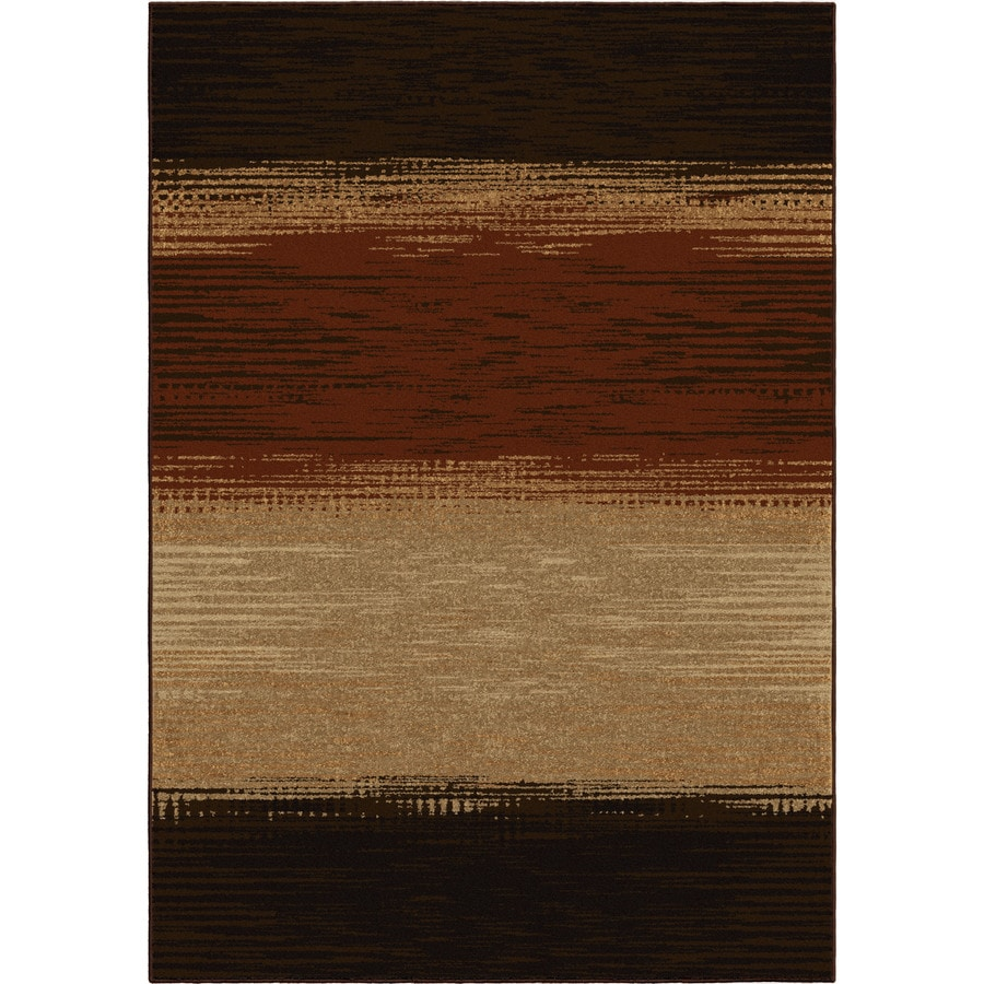 Orian Rugs Castello Multi Rectangular Indoor/Outdoor Machine-made Novelty Area Rug (Common: 5 x 8; Actual: 5.17-ft W x 7.5-ft L)
