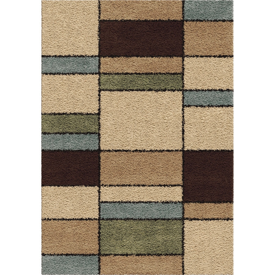 Orian Rugs Throston Indoor Novelty Area Rug (Common: 8 x 11; Actual: 7.83-ft W x 10.83-ft L)