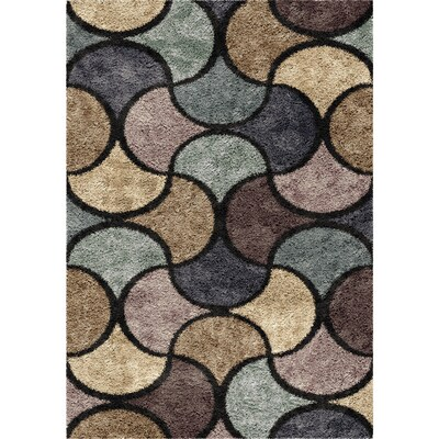 Orian Rugs Chimera Blue Indoor Area Rug Common 7 X 10