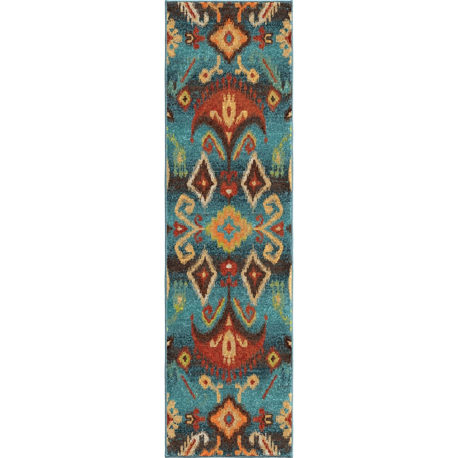 Orian Rugs Eastern Trad Multi Rectangular Indoor Machine-made Southwestern Runner (Common: 2 x 8; Actual: 2.25-ft W x 8-ft L)