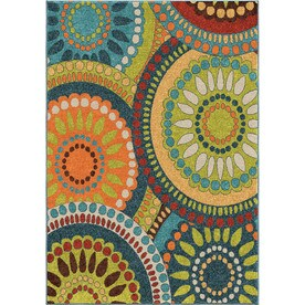 Orian Rugs Promise Rectangular Indoor/Outdoor Machine-Made Novelty Runner