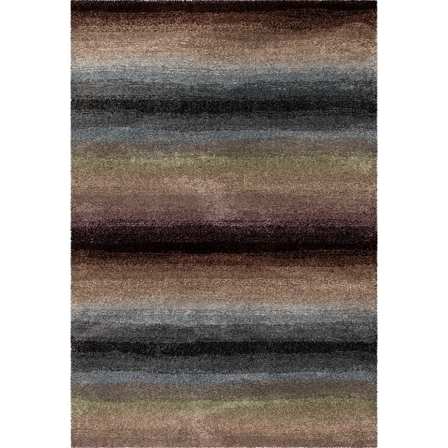 Orian Rugs Connection Multi Rectangular Indoor Machine-made Novelty Area Rug (Common: 7 x 10; Actual: 6.58-ft W x 9.67-ft L)