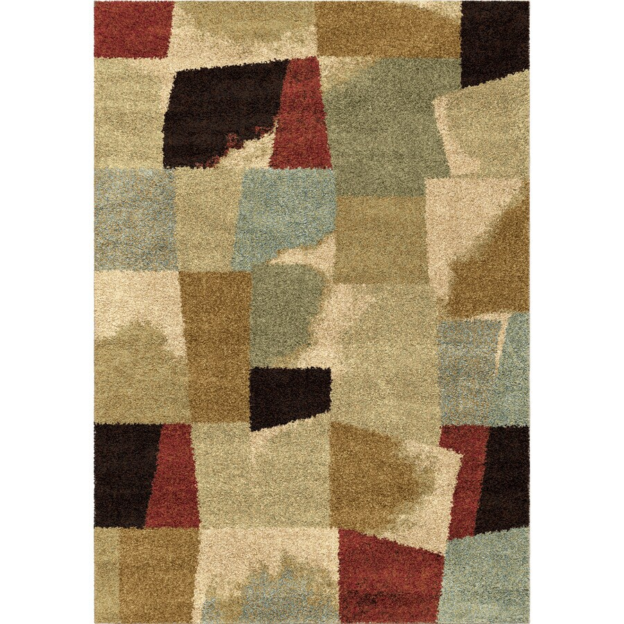 Orian Rugs Ralston Ivory Rectangular Indoor Machine-made Novelty Area Rug (Common: 5 x 8; Actual: 5.25-ft W x 7.5-ft L)