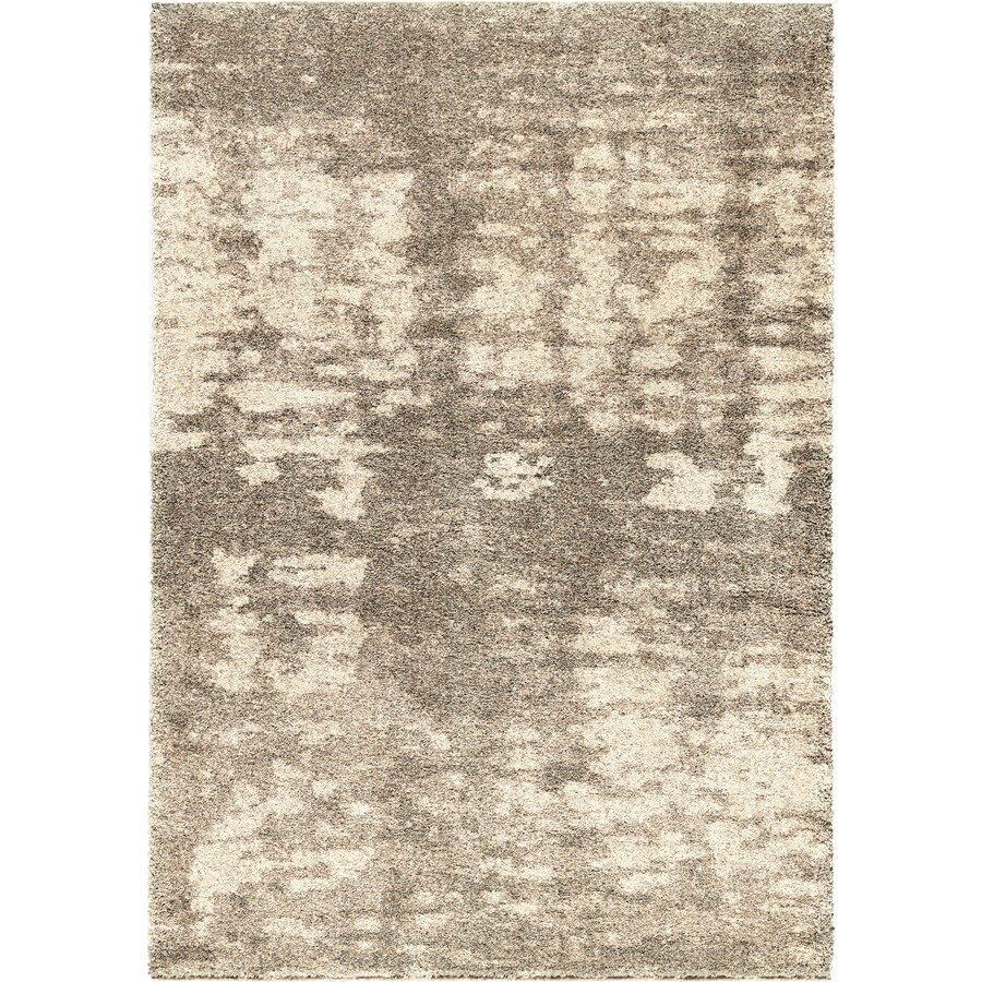 Orian Rugs Brume Clouds Gray Rectangular Indoor Machine-made Novelty Area Rug (Common: 5 x 8; Actual: 5.25-ft W x 7.5-ft L)