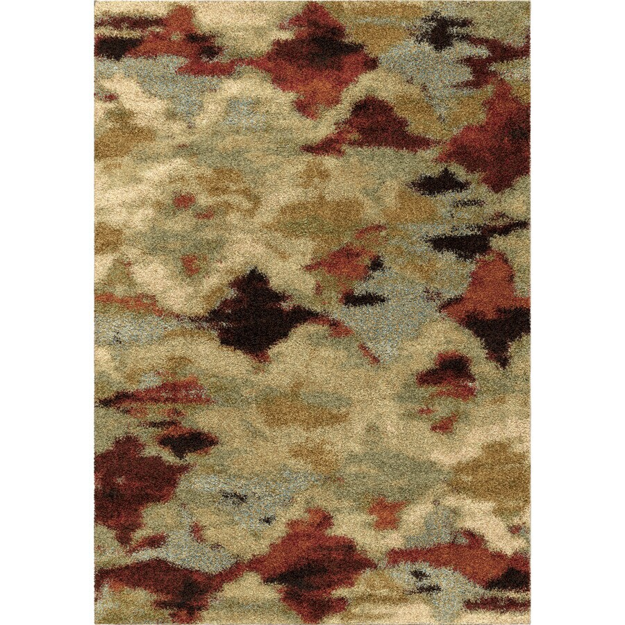 Orian Rugs Tarnen Ivory Rectangular Indoor Machine-made Novelty Area Rug (Common: 8 x 11; Actual: 7.83-ft W x 10.83-ft L)