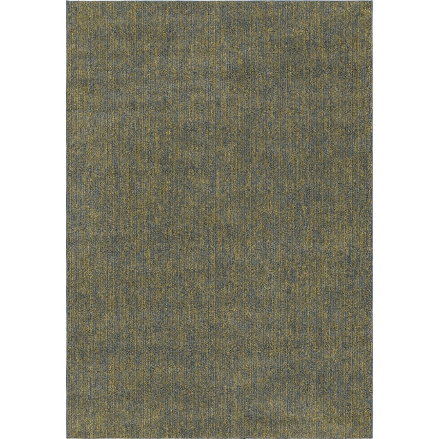 Orian Rugs New Horizons Blue Rectangular Indoor Machine-Made Novelty Area Rug (Common: 5 x 8; Actual: 5.25-ft W x 7.5-ft L x 0-ft Dia)