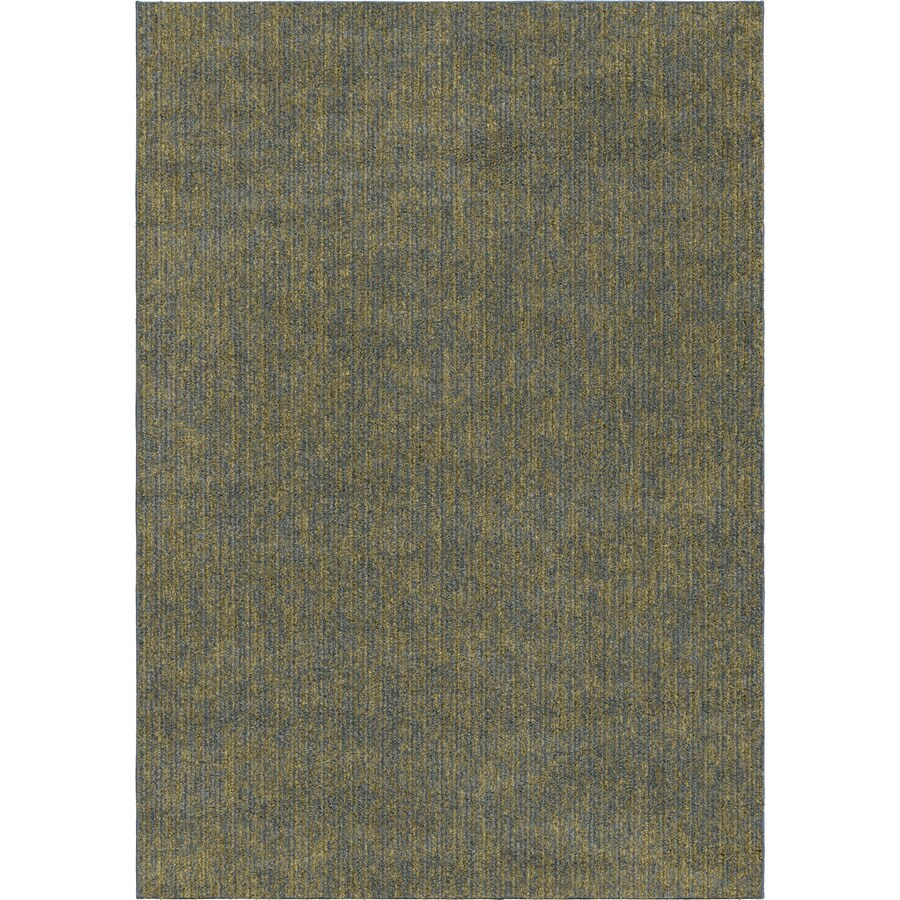 Orian Rugs Mixed Blue Rectangular Indoor Machine-made Novelty Area Rug (Common: 8 x 11; Actual: 7.83-ft W x 10.83-ft L)