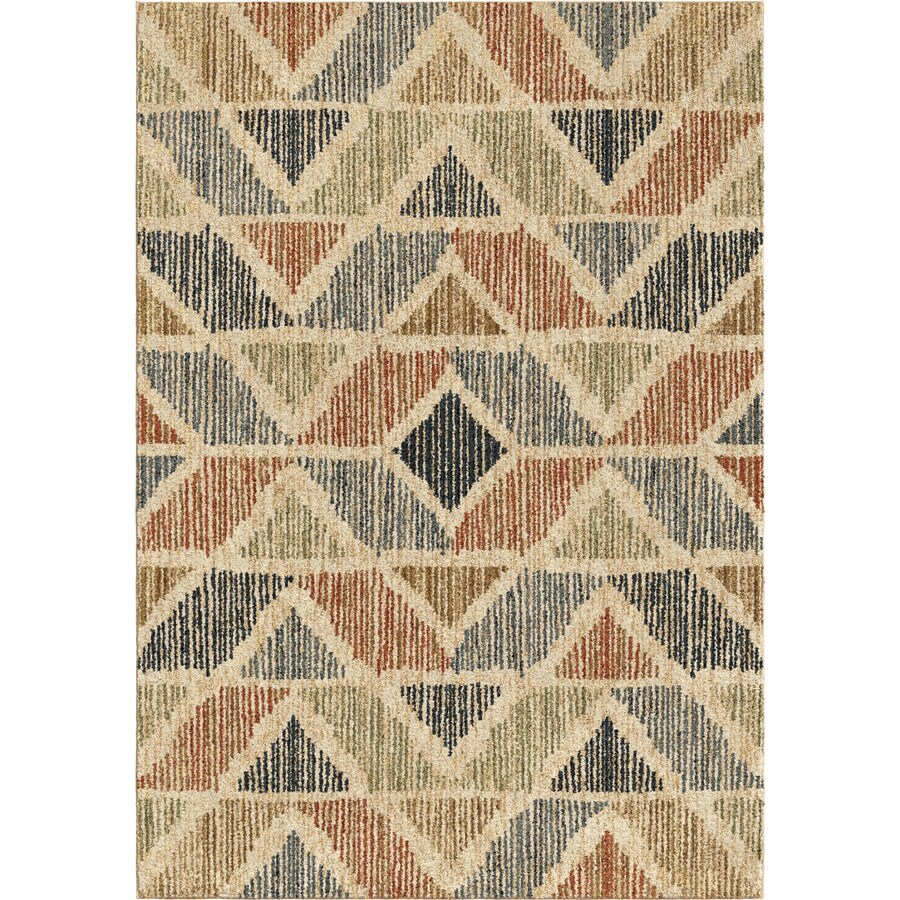 Orian Rugs Nairobi Indoor Novelty Area Rug (Common: 5 x 8; Actual: 5.25-ft W x 7.5-ft L)