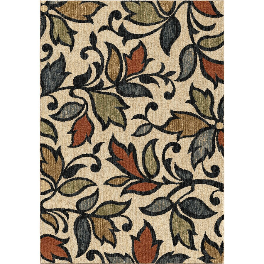 Orian Rugs Leaves Akimbo Indoor Nature Area Rug Common 8 X 11 Actual