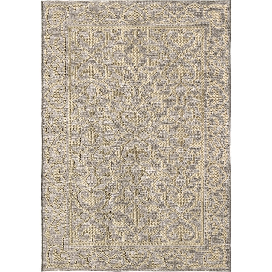 Outdoor Rug 7 X 10: Orian Rugs Alexa Light Blue Indoor/Outdoor Coastal Area