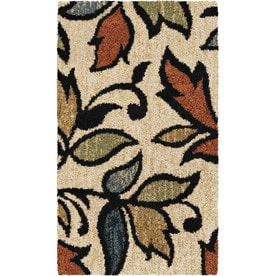allen + roth Bressay Off-White Indoor Nature Throw Rug (Common: 2 x 4; Actual: 2-ft W x 4-ft L)