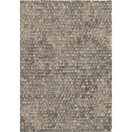 Shop Audrey Gray Mid Century Modern Area Rug: Orian Rugs Super Shag Timberlane Gray Indoor/Outdoor Mid