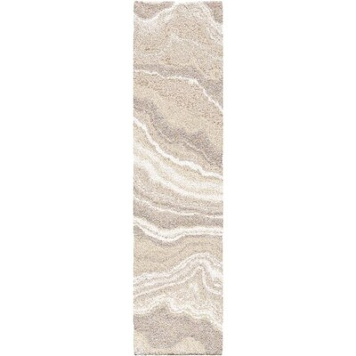 Orian Rugs Super Shag Cascade Ivory