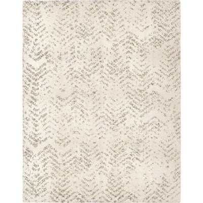 Alvida Natural Rectangular Indoor Machine Made Farmhouse Cottage Area Rug Common 8 X 10 Actual 7 1 Ft W L