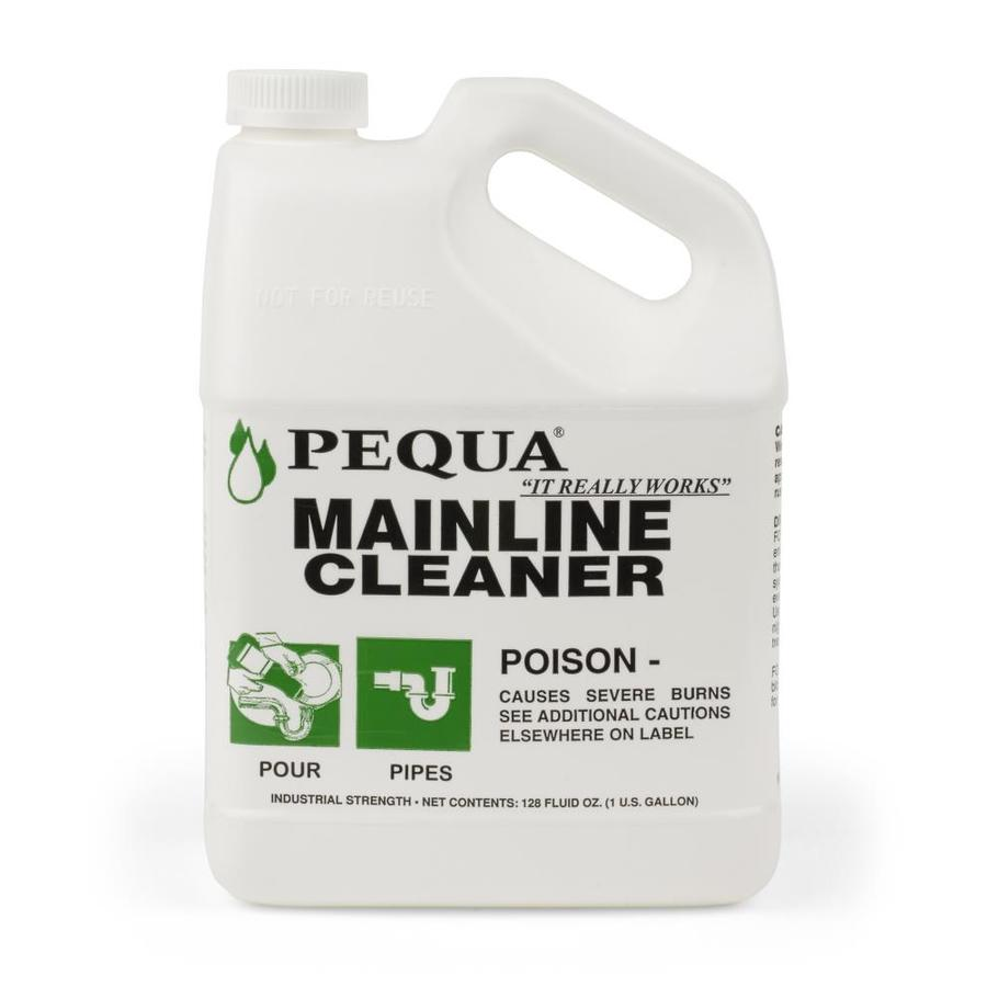 Pequa Mainline Cleaner 128 Fl Oz Drain Cleaner At Lowes Com