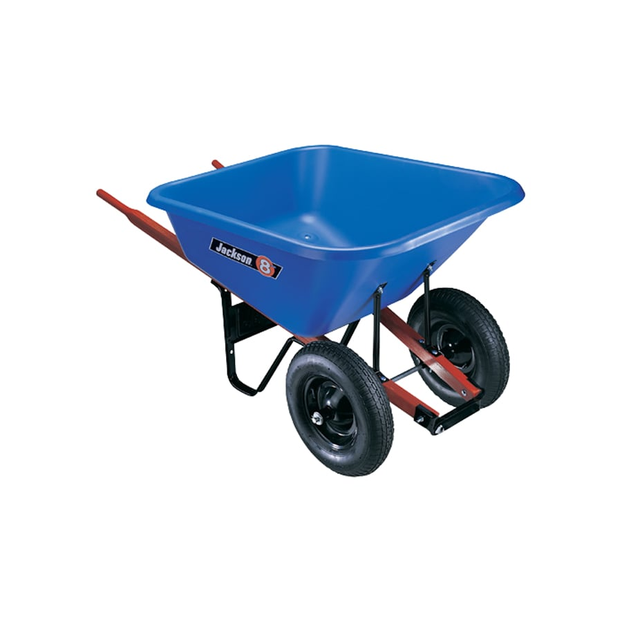 Jackson® 8 Cu. Ft. Poly Tray Wheelbarrow