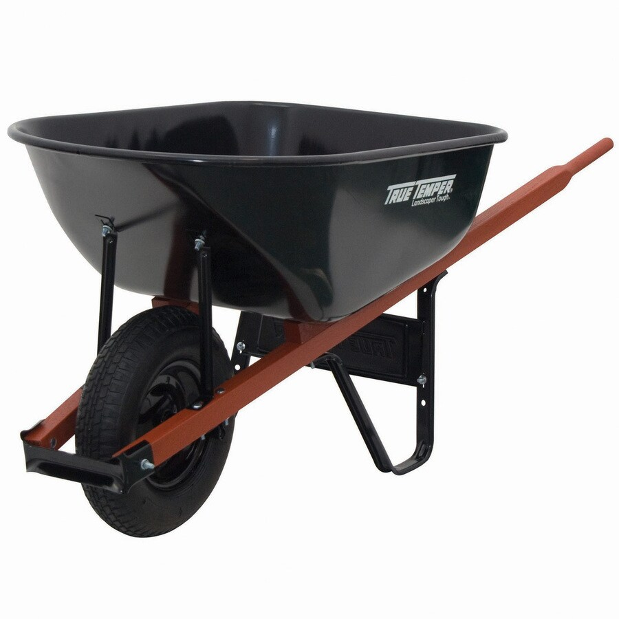 Ames 6 cu ft Steel Wheelbarrow