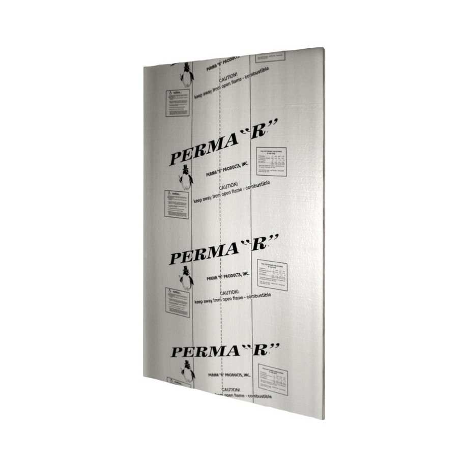 Perma R Products R7 8 Faced Polystyrene Foam Board Insulation Common