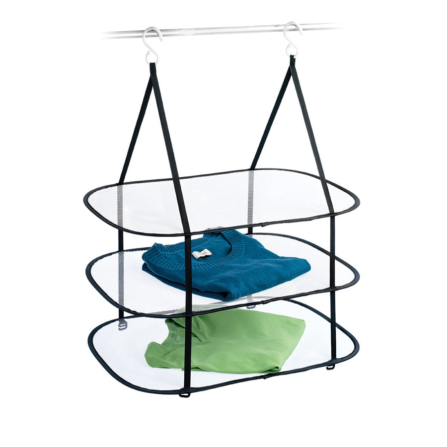 Homz Products 3-Tier Mixed Material Drying Rack