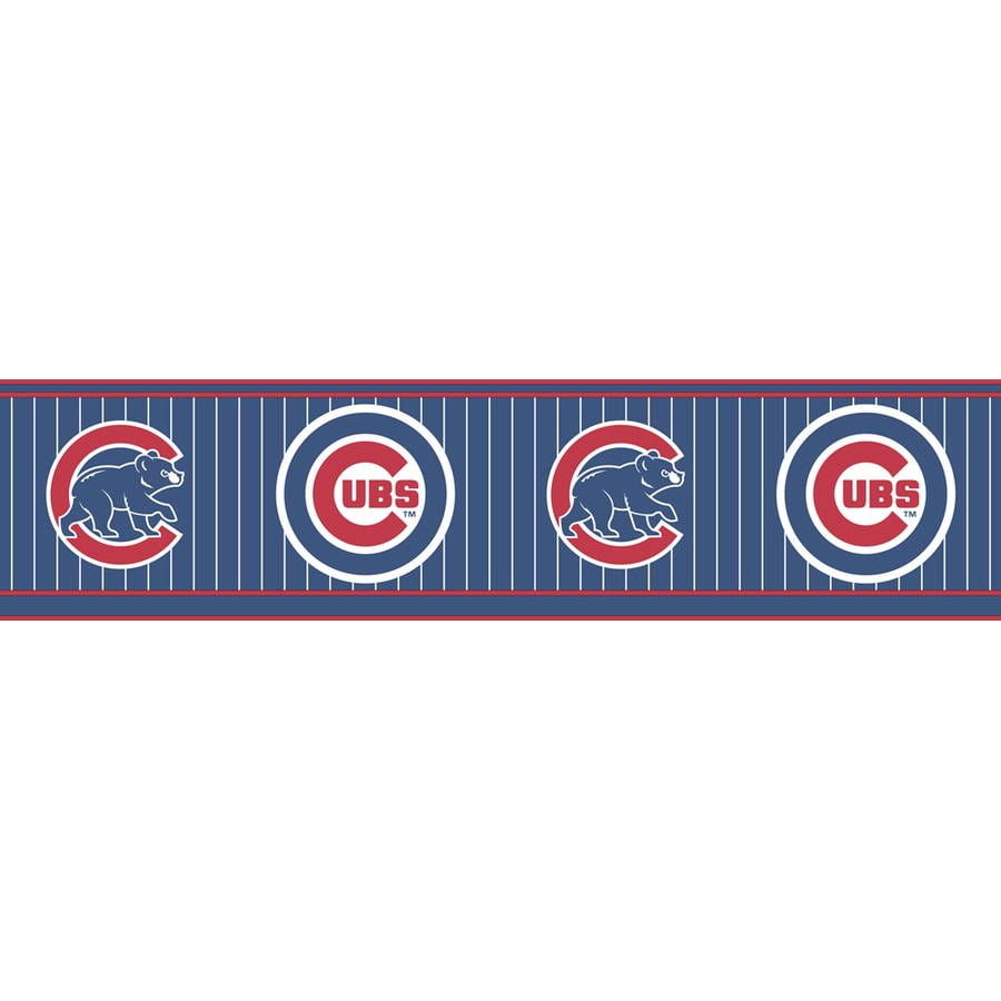 allen + roth Chicago Cubs Wallpaper Border