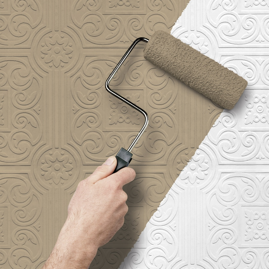 Superieur Allen + Roth Peelable Vinyl Prepasted Paintable Wallpaper