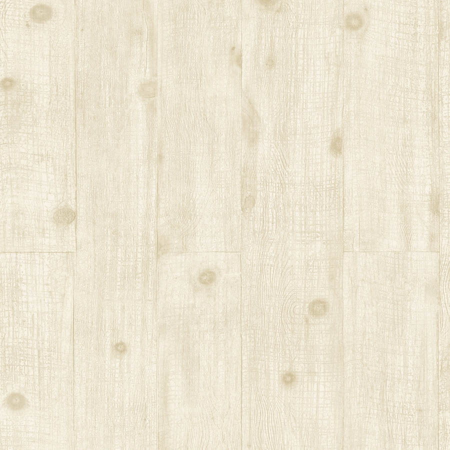 Allen Roth Cream Lable Vinyl Prepasted Clic Wallpaper