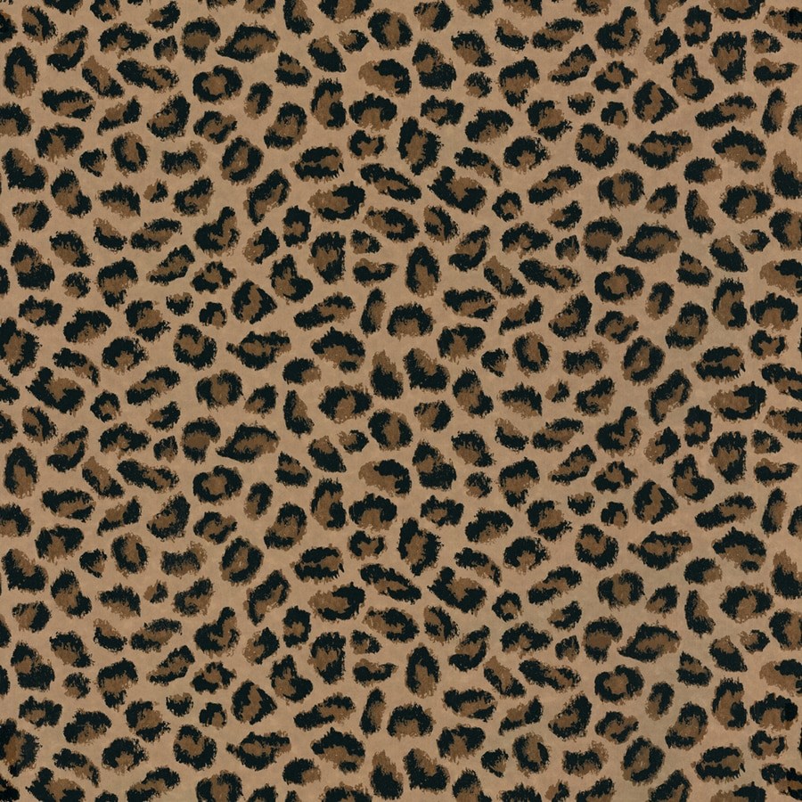 allen + roth Brown Strippable Paper Prepasted Classic Wallpaper