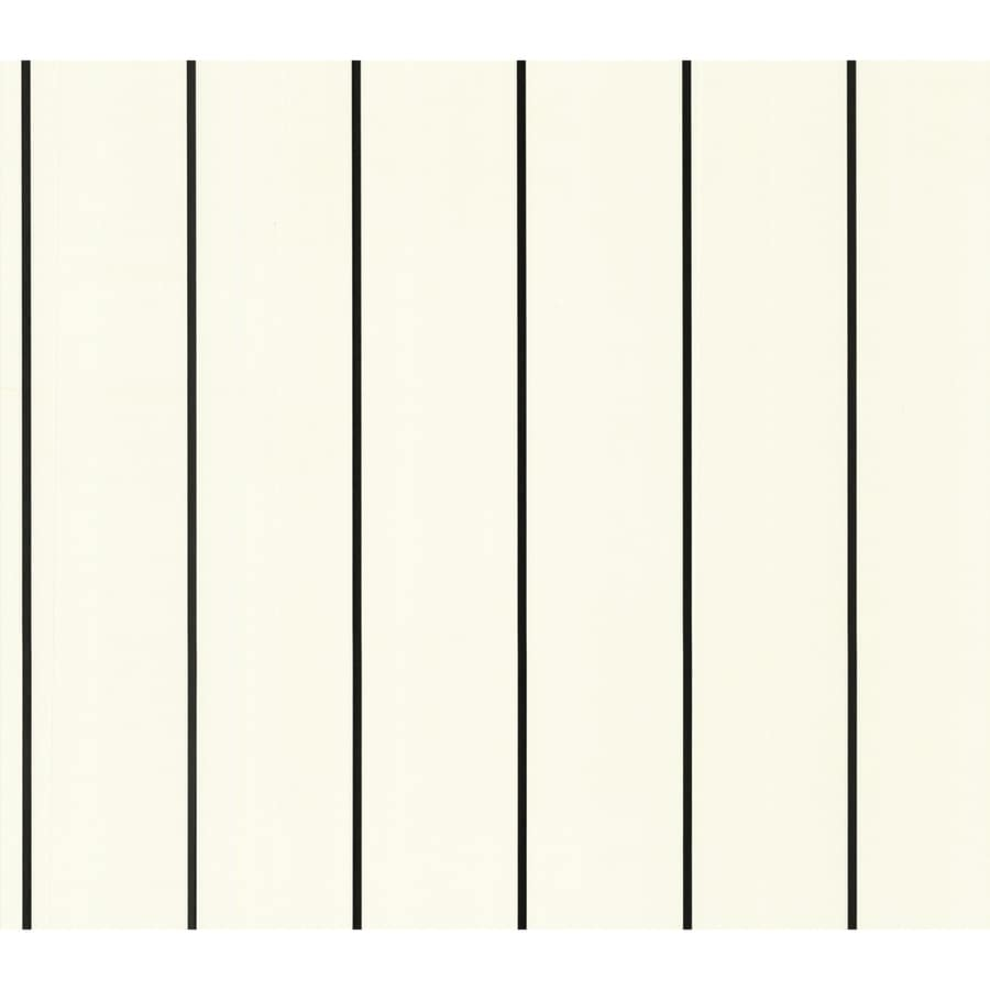 allen + roth Black Peelable Vinyl Prepasted Wallpaper