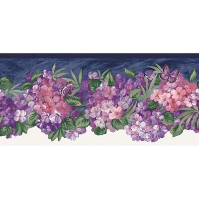 Allen Roth 9 Purple Jewel Tone Hydrangea Prepasted