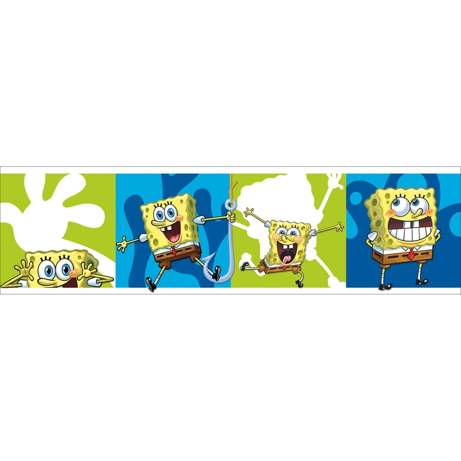 Shop Nickelodeon 5-in Spongebob Border at Lowes.com