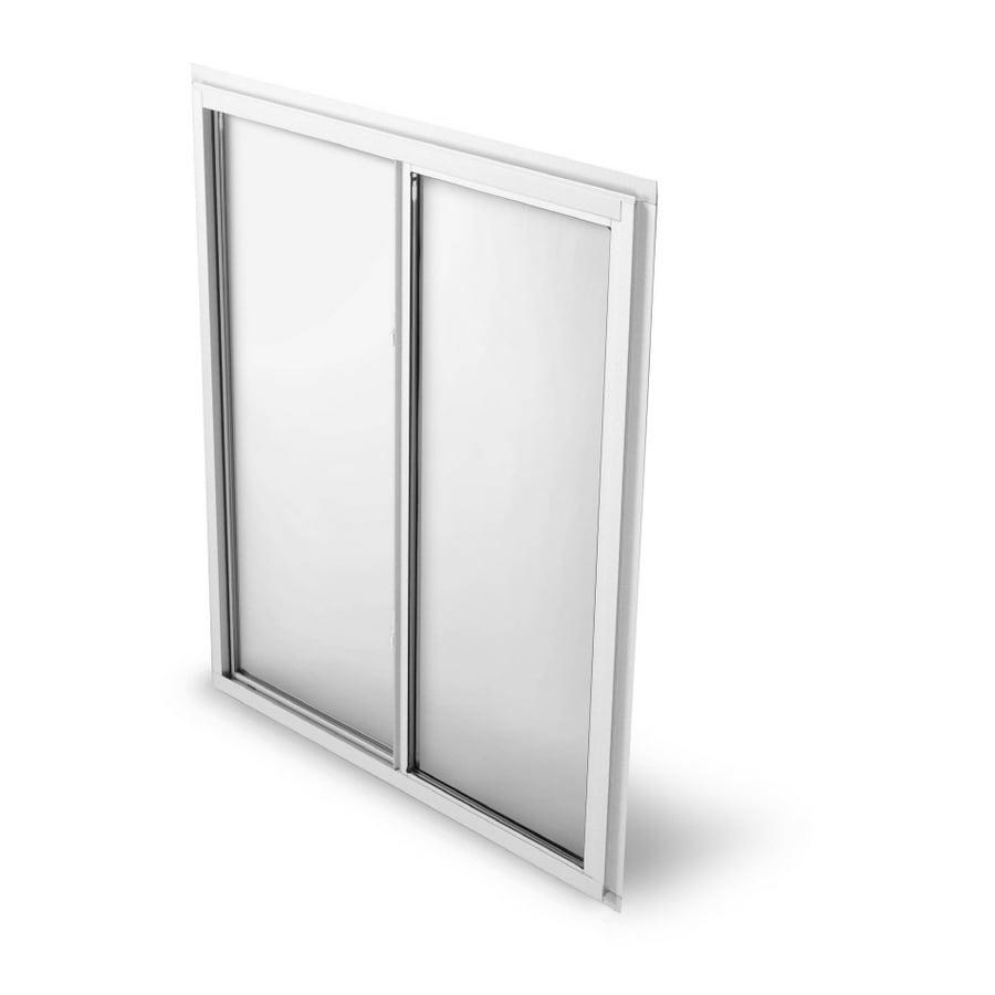 Sliding Glass Windows: Shop BetterBilt 48X36 Sliding Window Aluminum 875 Series