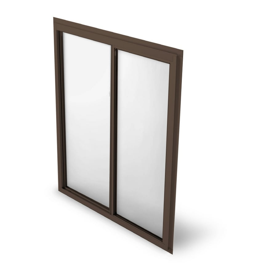 BetterBilt 875 Series Left-Operable Aluminum Double Pane Single Strength New Construction Sliding Window (Rough Opening: 72-in x 48-in; Actual: 71.25-in x 47.5-in)