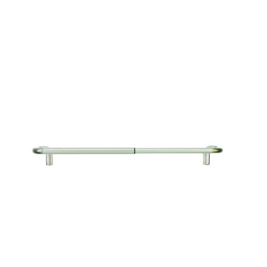 Umbra Twlight Rod 2-Pack 48-in To 88-in Nickel Steel Single Curtain Rod