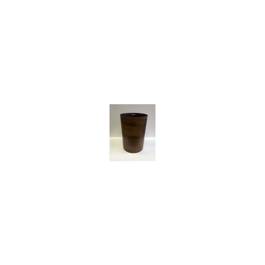 Umbra Treela 4.5-Gallon Brown Plastic Trash Can