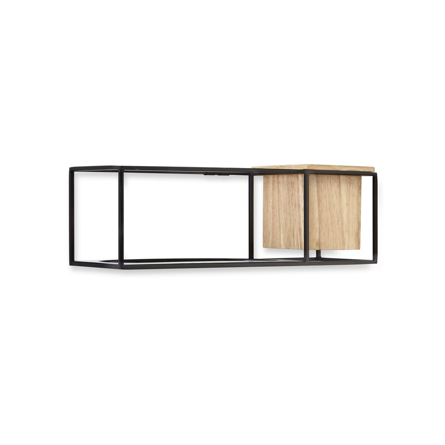Umbra 4.6-in W x 14.96-in H x 4.6-in D Steel Wall Mounted Shelving