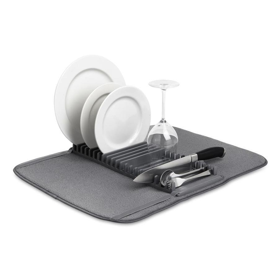 Umbra 8.5-in W x 1.5-in L x 17-in H Cloth Drying Mat