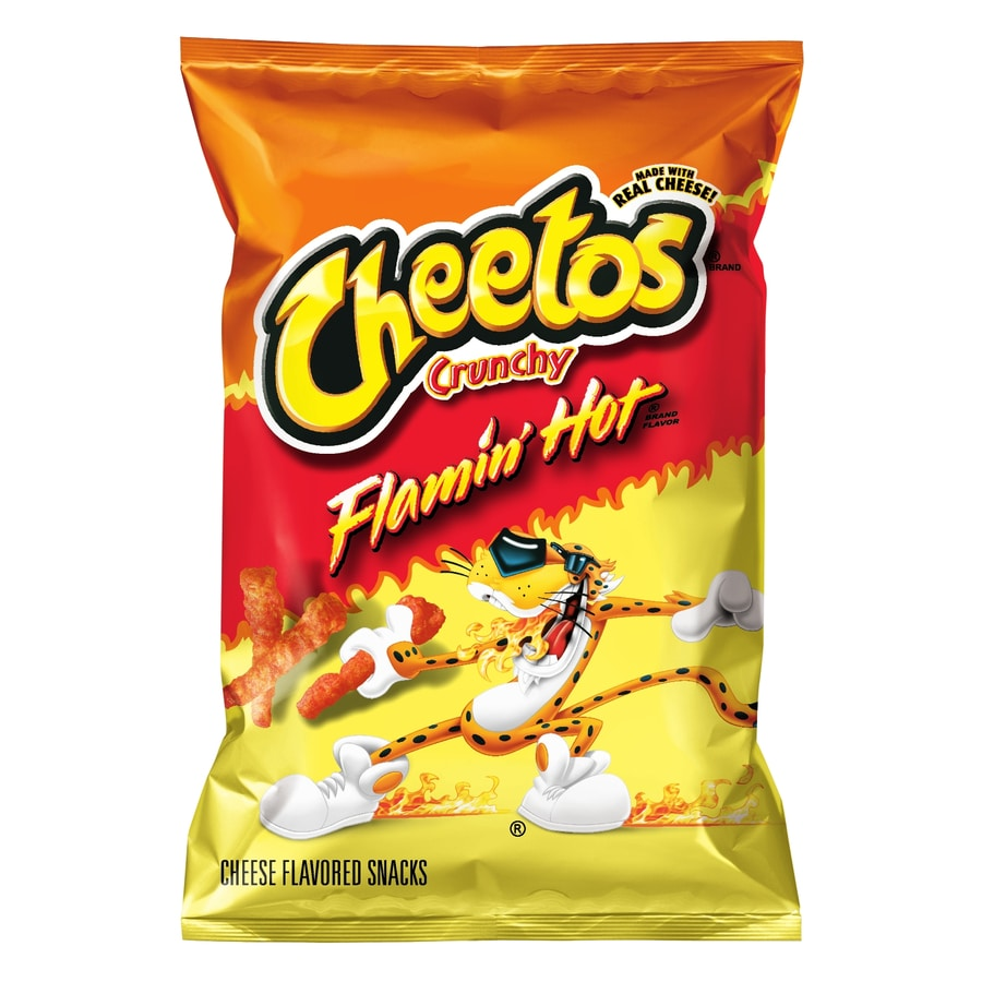 Cheetos 3.25-oz Cheetos Crunchy Flamin' Hot Cheese Puffs