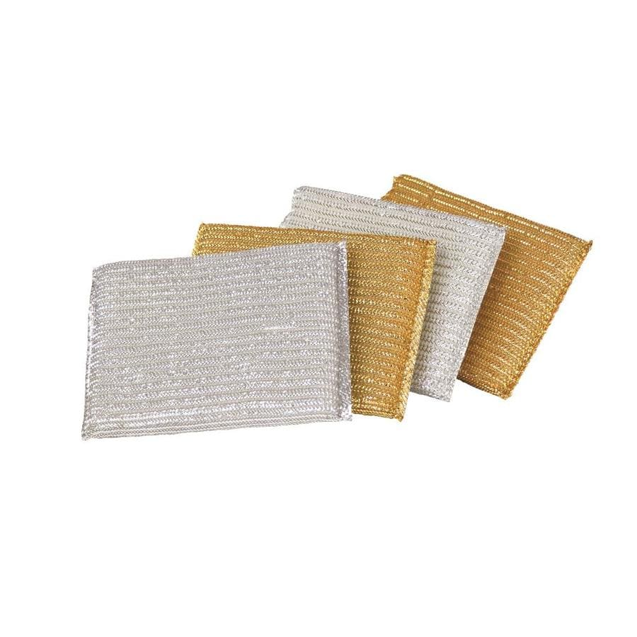 Casabella 4-Pack Polyurethane Sponge With Scouring Pad