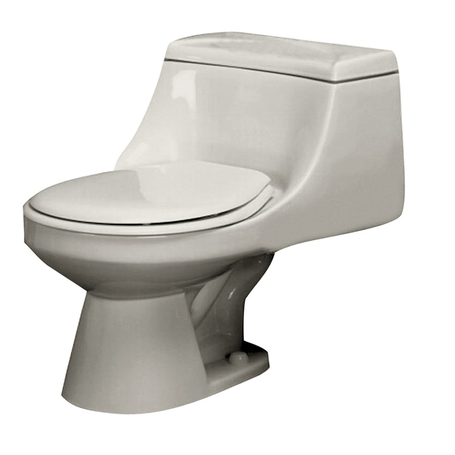 Barclay Vogue Bisque 1.6-GPF (6.06-LPF) 12-in Rough-In Round Standard Height Toilet
